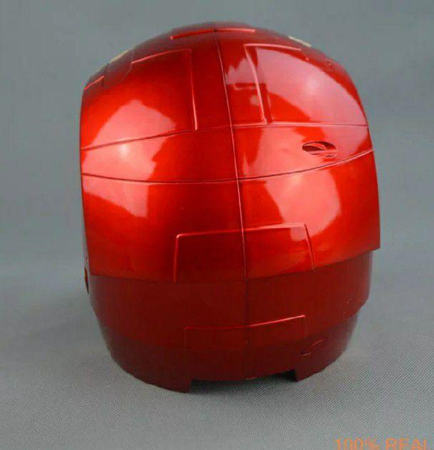 Capacete Máscara Homem De Ferro Tony Stark Cosplay com Luz LED