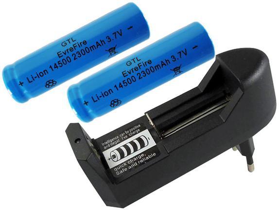 Carregador Bateria Pilha Recarregável Regulável LÍTIO de 3,7V 18650 16340 14500 Bivolt para Lanterna Caixa de som