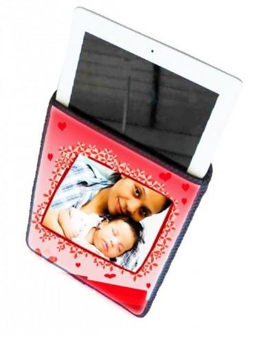 Capa para Tablet Branca Acolchoada 20x25cm Personalizada