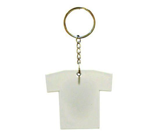 Chaveiro de Metal Camisa / Camisetinha Personalizado 2 lados com foto