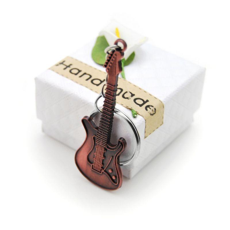 Chaveiro Guitarra Clássica Amante de Rock Música Presente Músico