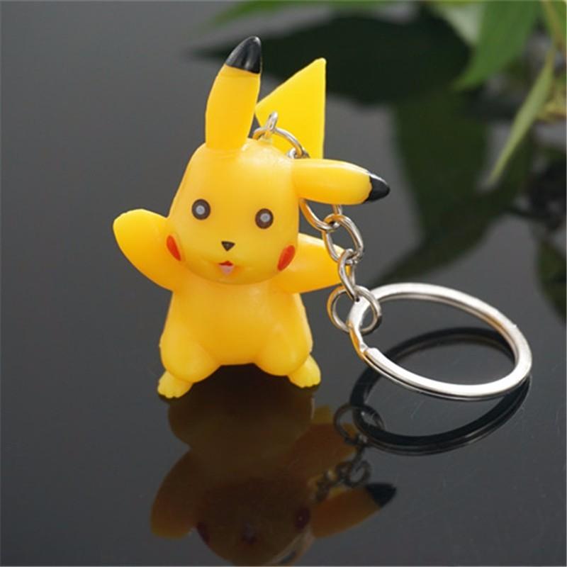 Chaveiro Pikachu Anime de Bolso Pokemon Go
