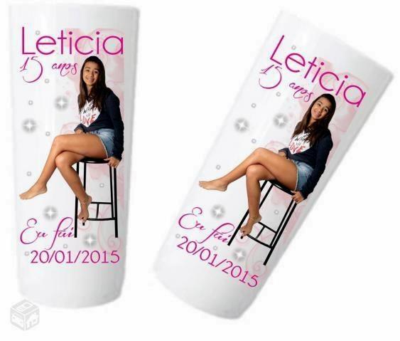 Copo Long Drink Plástico Branco 400ml Personalizado