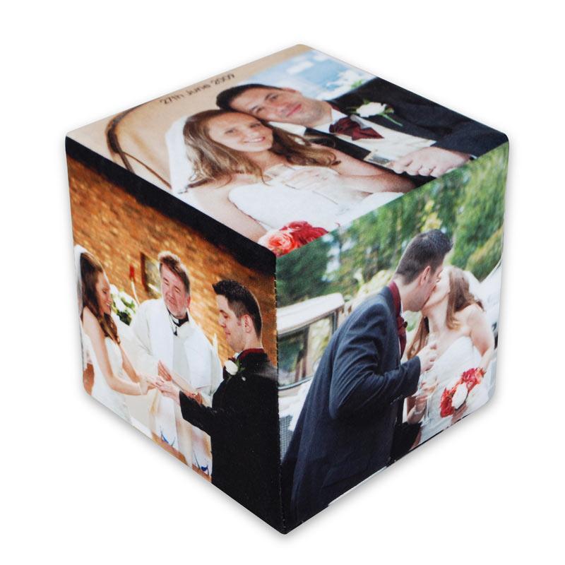 Cubo de fotos 8cm personalização total