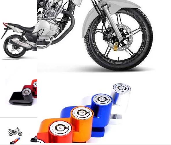 Disk Moto Lock Cadeado Trava De Disco de Freio Anti furto Moto Universal