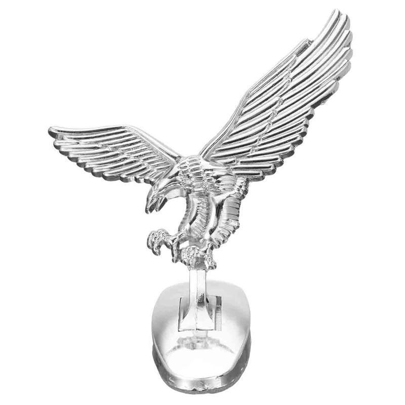 Emblema Adesivo 3D Águia para Tampa Dianteira do Carro