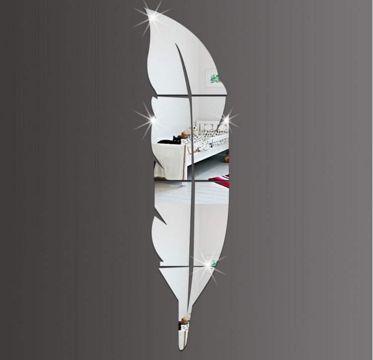 Editar - Espelho Acrílico Adesivos de Parede Arte para Decorar Decoração Casa