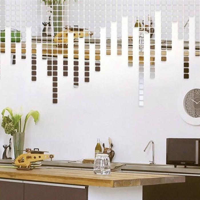 Espelho Acrílico Adesivos de Parede Arte para Decorar Decoração Casa
