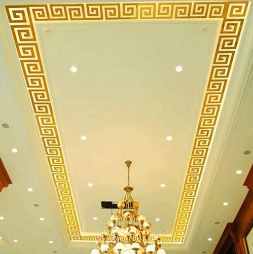 Espelhos Adesivos Acrílico de Parede 3D 10 pçs Labirinto Dourado ou Prata