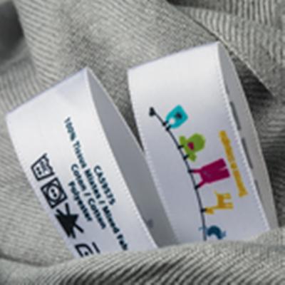 Fita Cetim Seda Etiqueta Personalizada para decoração de Roupas Festas Embrulhos