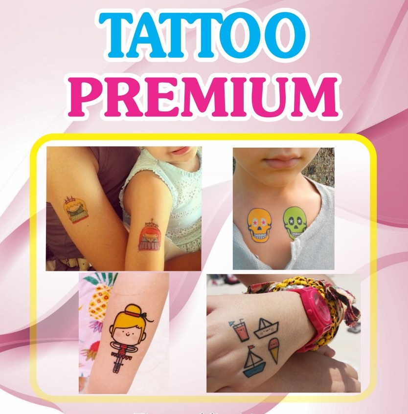 Folha Papel Tatuagem A4 Personalizada