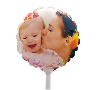 Foto Balão Grande Tamanho A3 28cm Personalizado