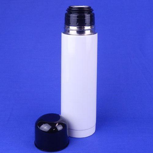 Garrafa Térmica 500ml Alumínio Personalizada com tampa Plástica