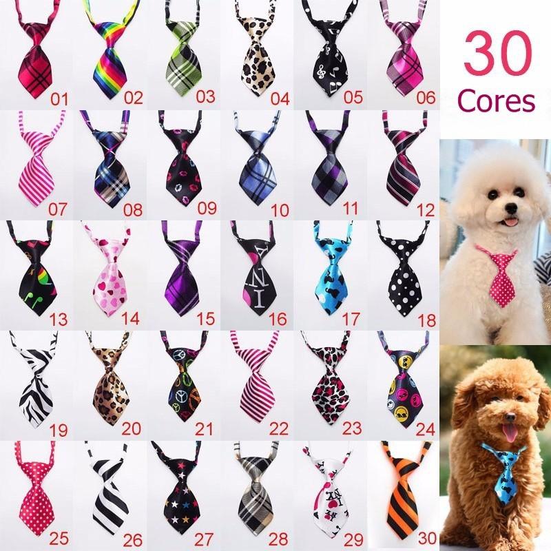 Gravata filhote de cachorro gatinho gravata adorável Cão Gato 3 unidades Pet