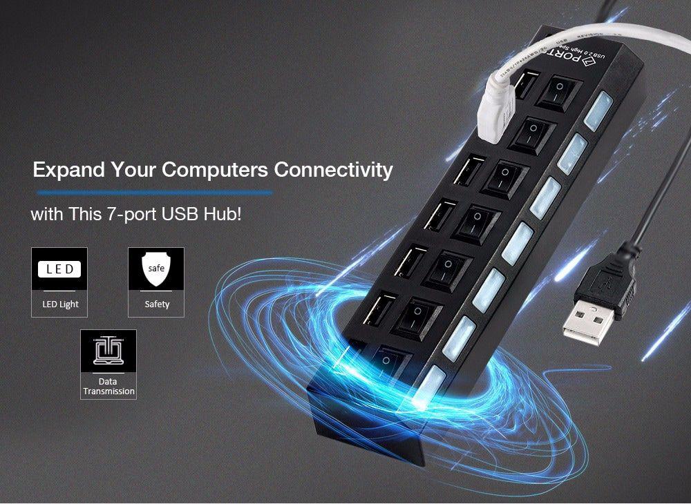 Hub USB para computador