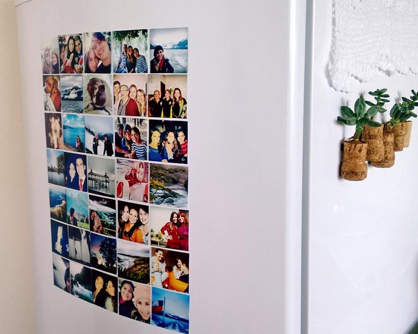 Imã de Geladeira 10x15cm Personalizado com foto
