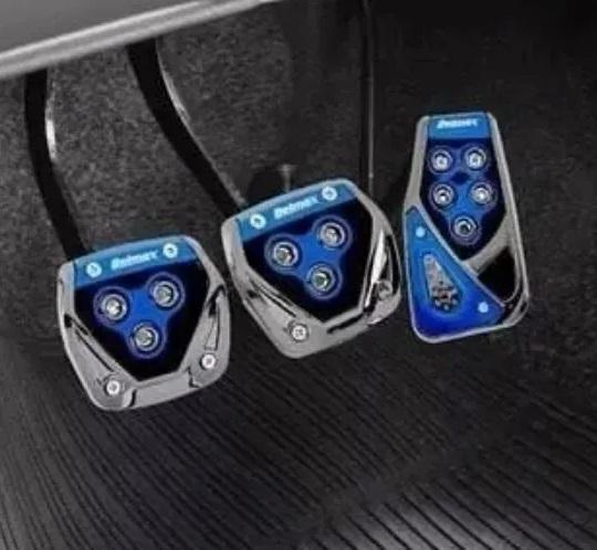 Jogo de Pedaleiras para Carro Esportiva Automotiva  Antiderrapantes Tunning Personalização do carro Acessórios para Carros