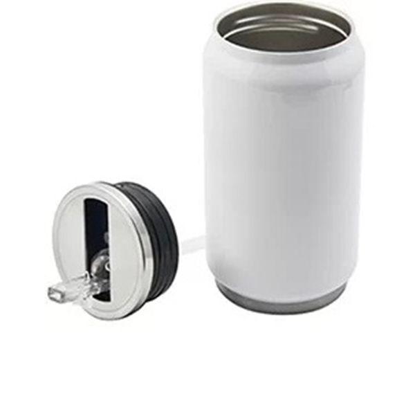 Lata Térmica Inox com Parede Dupla 280ml com Bico Retrátil Personalizada