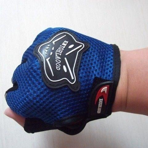 Luvas Meio Dedo Motociclista Motocross Ciclismo Treino Crossfit Academia