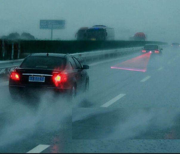 Luz de Nevoeiro Neblina Laser para carro segurança Veicular