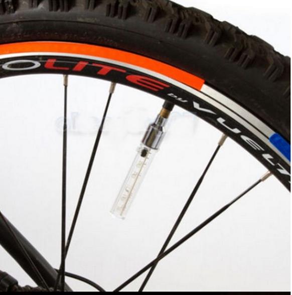 Luzes da roda Lanterna LED de Carro Moto e Bicicleta para colocar na tampa do bico do Pneu (par)