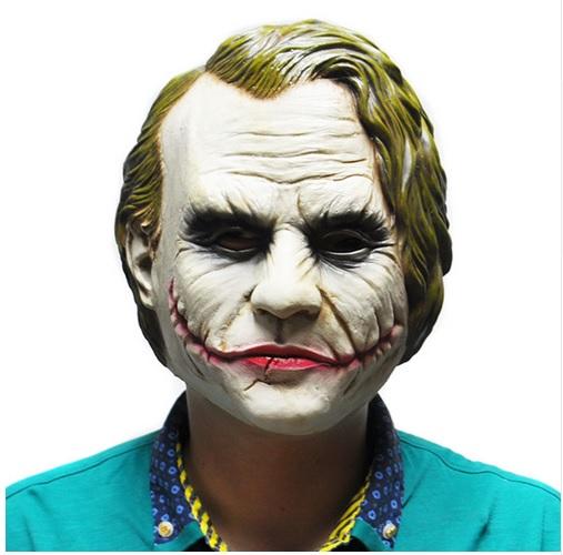 Máscara do Coringa do Filme Batman para Adulto em Látex
