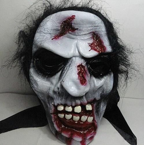 Máscara fantasma Assustadora para Halloween Carnaval Festa a Fantasia