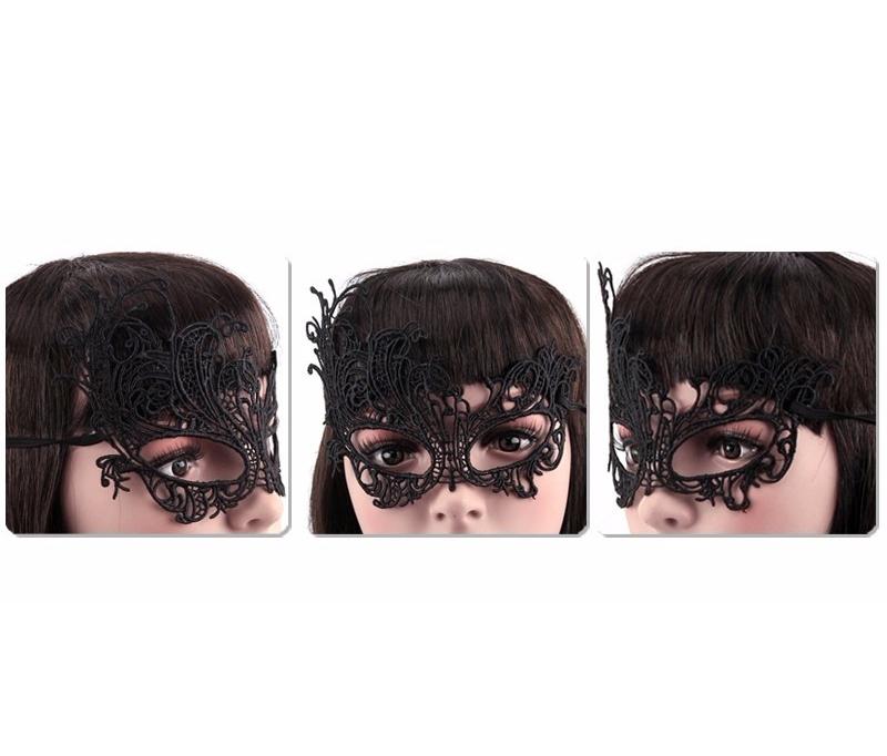 Máscara Feminina Tipo Senhora Baile de Máscaras Halloween Carnaval Fantasy