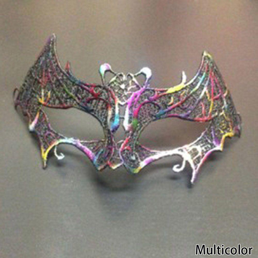 Máscara Morcego Feminina Tipo Senhora Baile de Máscaras Carnaval