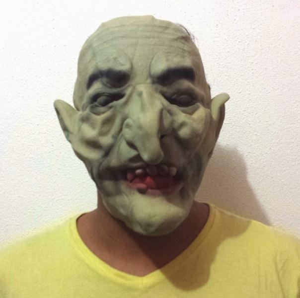 Máscaras de Terror de Látex para Carnaval Halloween Festa Fantasy Horror Fantasia