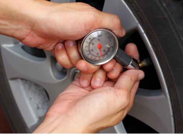 Medidor Calibrador de Pressão do Pneu de Bicicleta Moto Carro
