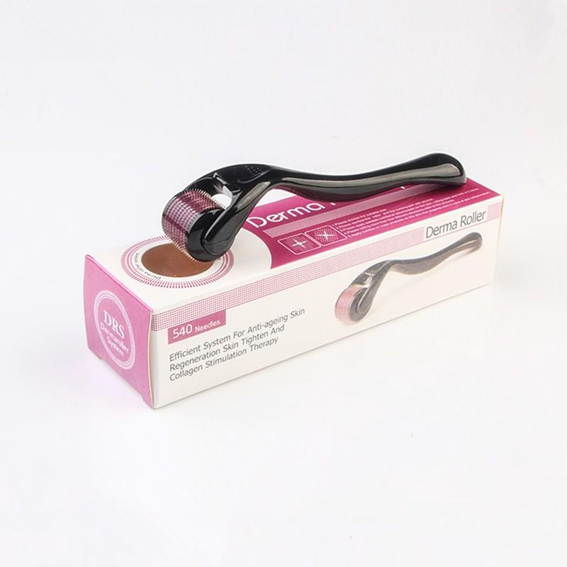 Microagulhamento Dermaroller System Tratamento de pele rosto acne estrias cabelo e barba 540 agulhas