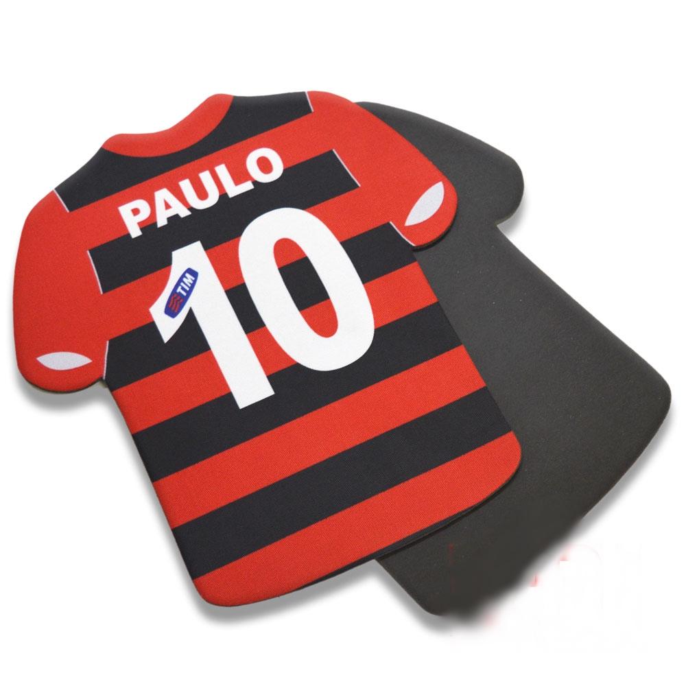 7c6d2979e Mouse Pad Camiseta HR Borracha Personalizado Time Clube Seleção ...