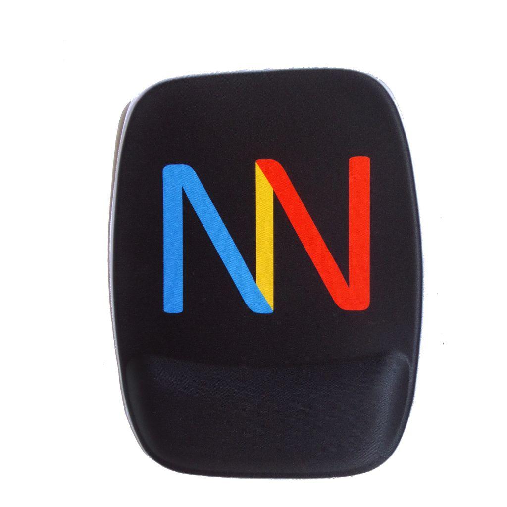 Mouse Pad com Apoio Retangular Ergonômico Personalizado
