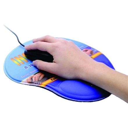 Mouse Pad Ergonômico Liso para Personalizar por Sublimação