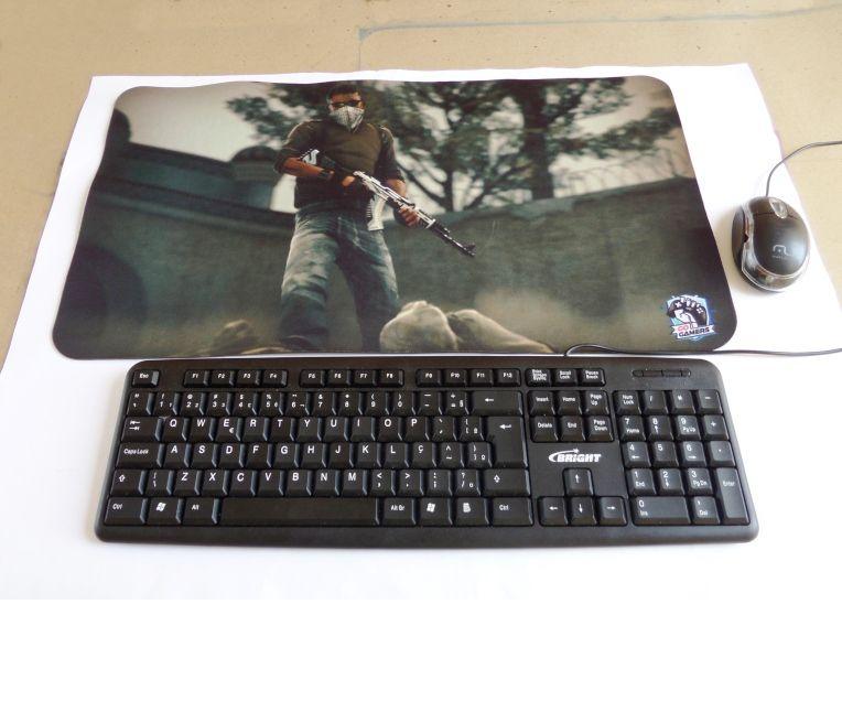 Mouse Pad Extra Grande 40x28cm Personalizado