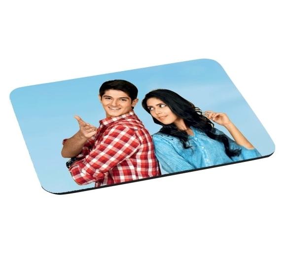 Mouse Pad Retangular Personalizado com foto logo conforme desejar