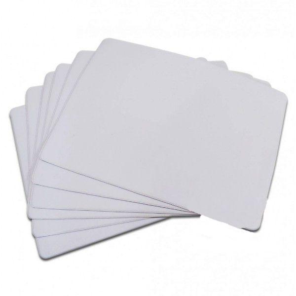 Mousepads Soldados 21x17cm e 40x28cm em branco