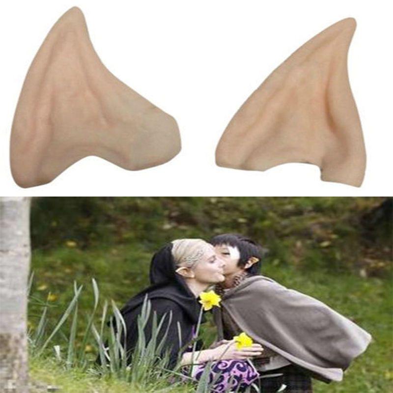 Orelhas de fadas ou duendes de látex macio