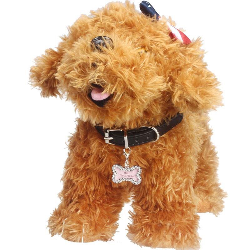 Pingente de Identificação Osso para Cachorro Ossinho Cão pet shop dogTag
