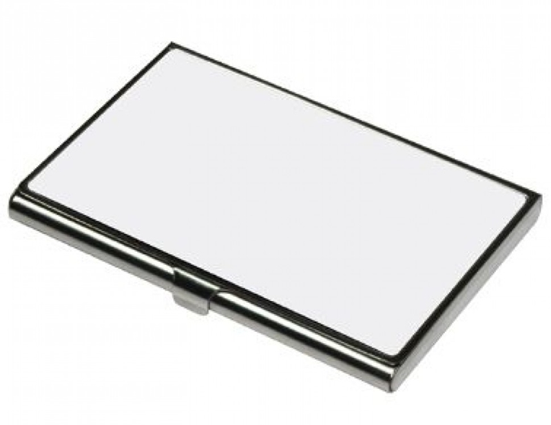 Porta Cartões Metálico Personalizado com espelho