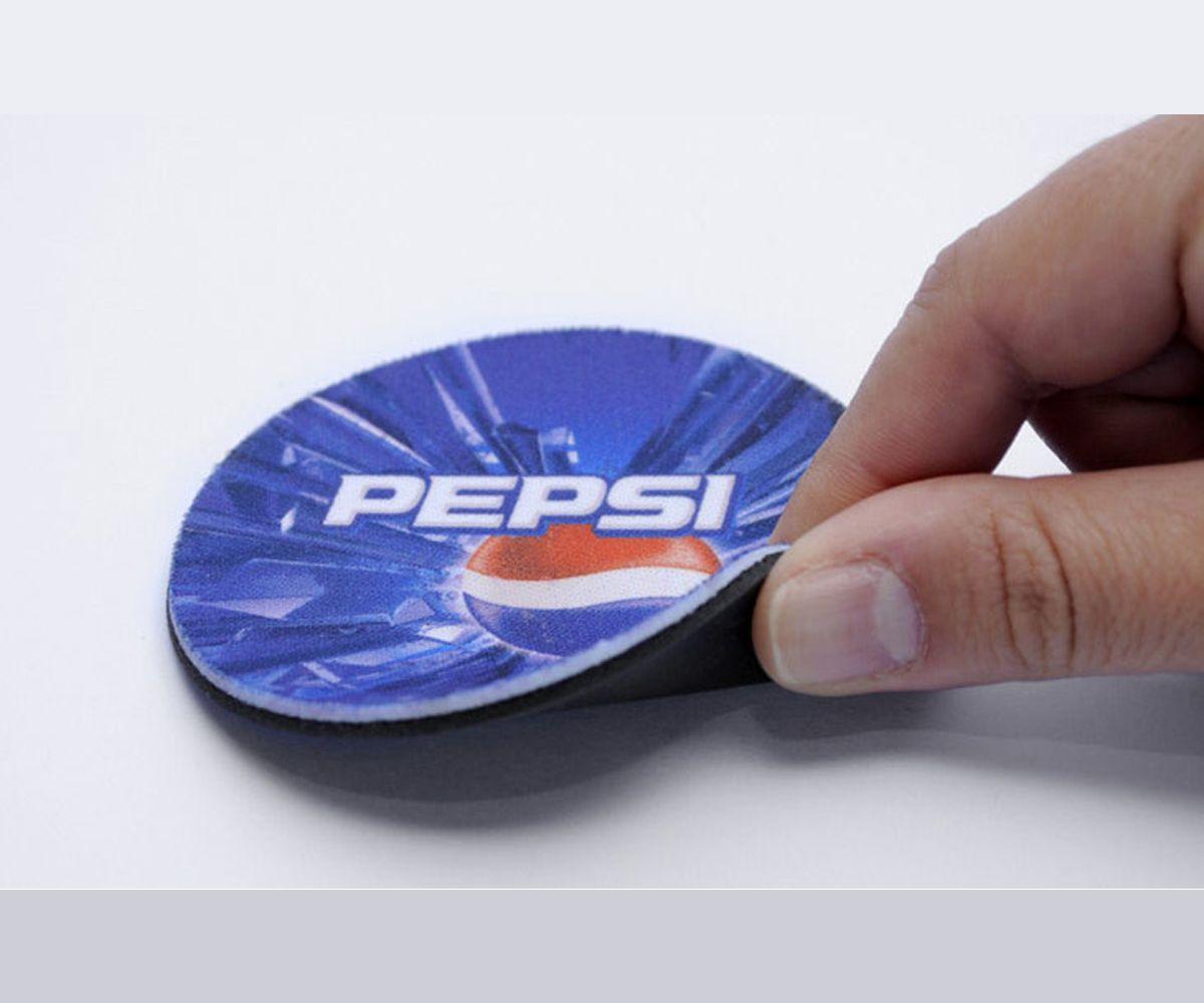 Porta Copos bolacha de Neoprene Redondo Personalizado