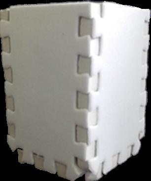 Porta Lápis / Caneta em EVA 11x8cm Personalizado