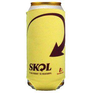 Porta Latão Cerveja 475ml em Neoprene Personalizado
