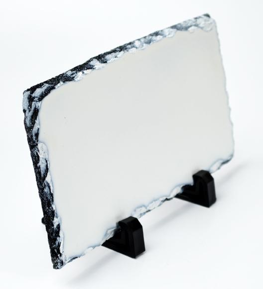 Porta Retrato de Pedra Retangular 10x20cm Personalizado