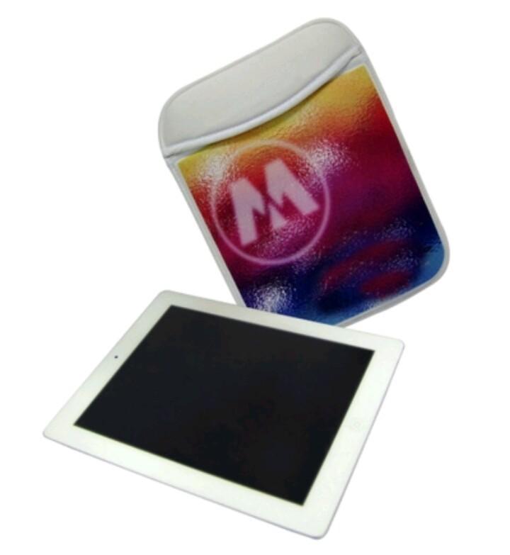 Porta Tablet em Neoprene 26x20cm Personalizado