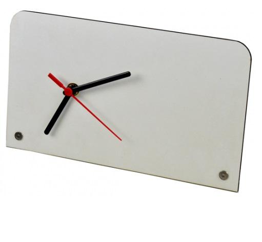 Relógio de Mesa / Porta retrato em MDF 26 x 15cm Personalizado