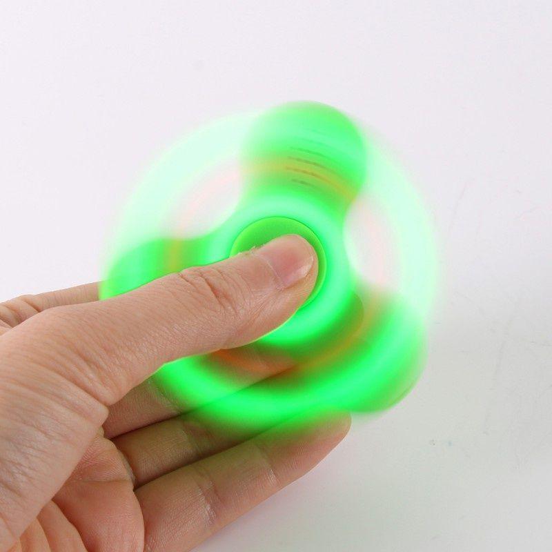 Spinner Musical caixinha de som Bluetooth Luminoso Recarregável