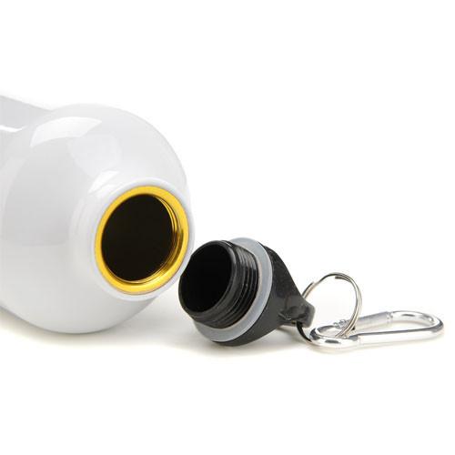 Squeeze de Alumínio Branco 600ml Personalizado