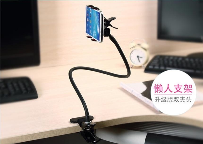 Suporte para Celular Universal Rotação 360º para Carro Cama para tablet